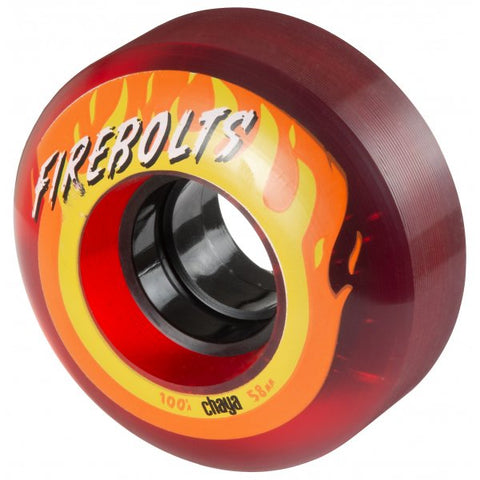 Chaya Firebolt Quad Wheels 100A - Momma Trucker Skates