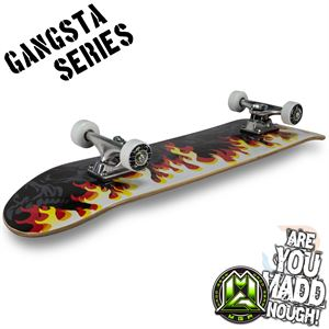 MGP Gangsta Series Sk8board - On Fire - Momma Trucker Skates