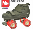Crazy Neon Skate Package - Momma Trucker Skates