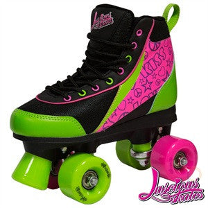 Luscious  Delish Retro Skates - Momma Trucker Skates