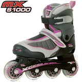 Xcess MX S1000 Adjustable In-Line Skates Lilac - Momma Trucker Skates