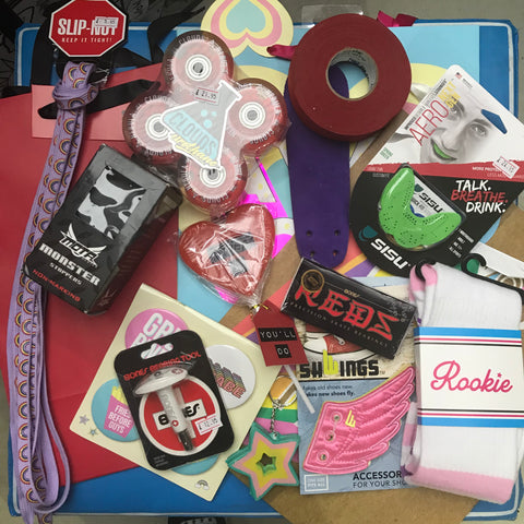 Skate Park Skaters Pre-filled Gift Bag Christmas Stocking