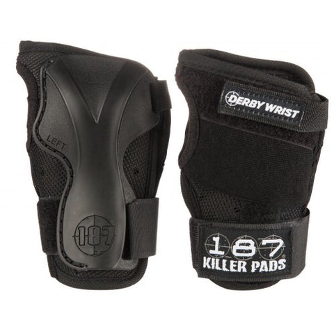 187 Pro Derby Wrist guards - Momma Trucker Skates