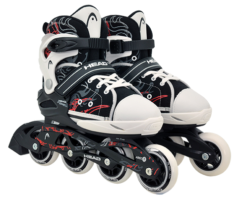 Head Black Adjustable Inline Skates - Momma Trucker Skates