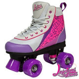 Luscious Purple Punch Retro Skates - Momma Trucker Skates