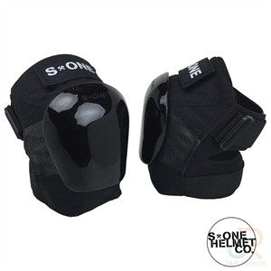 S1 Protection Black knee pads - Momma Trucker Skates