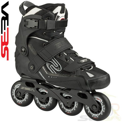 Seba '16 GT 80 In-Line Skates - Black - Momma Trucker Skates