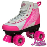 Luscious Strawberry Retro Skates - Momma Trucker Skates
