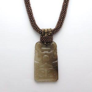The Tao of Wow necklace - RetroJade Jewelry