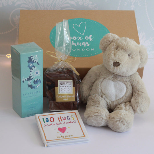 Ted & Bubbles Hug | Gift Box of Hugs