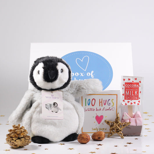 The Warmest Hug In A Box - Penguin