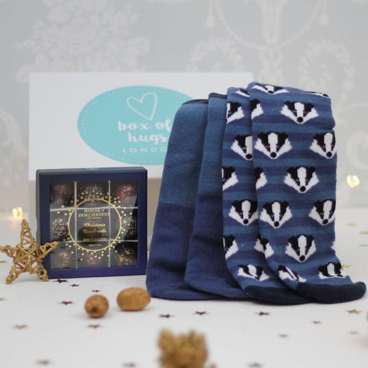 Socks & Chocs For Him Hug