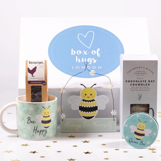 Bee Happy Hug In A Box