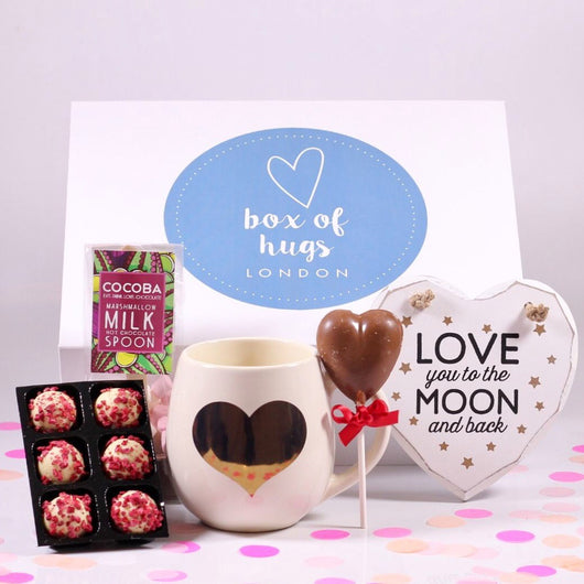 Love You To The Moon & Back Hug Gift Box