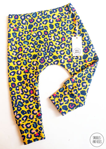 Baggies-Yellow Leopard Print NEW FOR A/W2020!!
