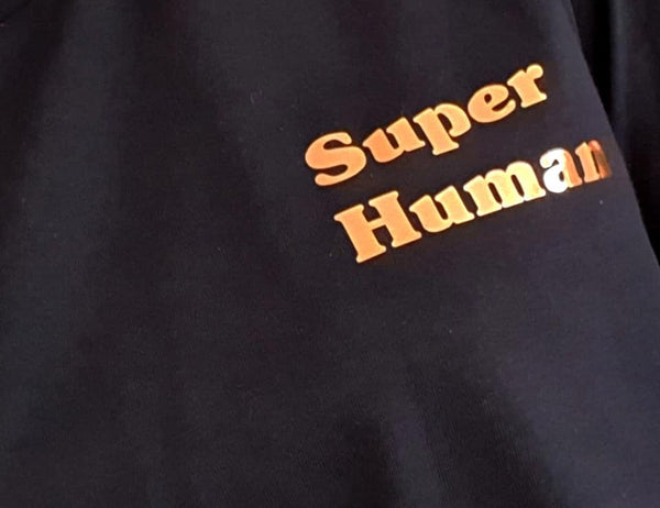 Adult Super Human T-shirt - Snuggles and Kisses
