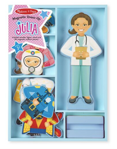 Melissa and Doug Julia Dress Up Set