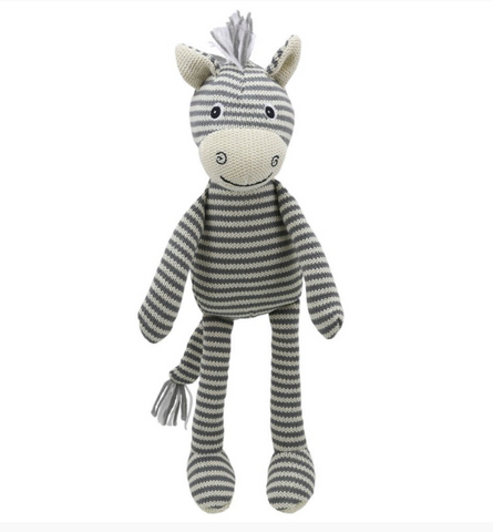 Wilberry Knitted Zebra