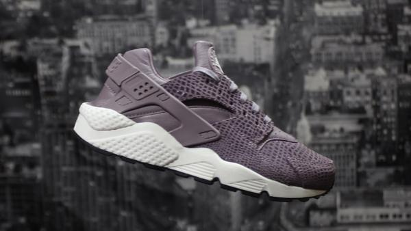 NIKE HUARACHE PURPLE SMOKE