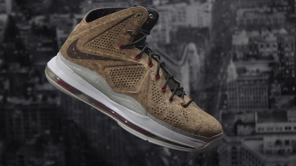 NIKE LEBRON X CORK VNDS RB