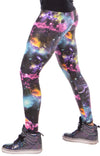 Space, UV Lightning, Blacklight, reactive, Psychedelic, Meggings, Leggings, Burning Man, Festival, Clothing, Men, Made in the USA, Revolver Fashion, Los Angeles