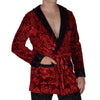 Hugh Hefner Signature Embossed Velvet Smoking Jacket (with or without Pants)