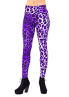 Purple, leopard print, leopard, animal print, costume, music festival, womens leggings, cute, sexy, clothing legging, made in usa, revolver fashion, coachella, burning man, outfit, spandex