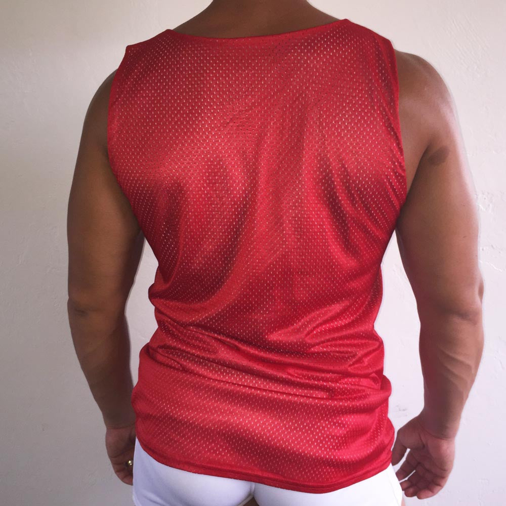 Reversible Tank Red / Black / White