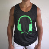 Reversible Tank Black / Green  / White