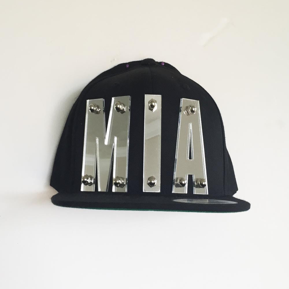 MIA Mirror Black Cap
