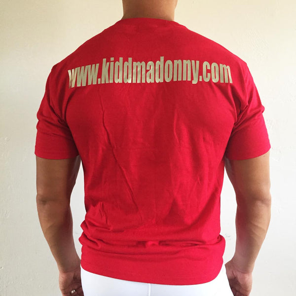 Kidd Madonny Tee Red / Silver