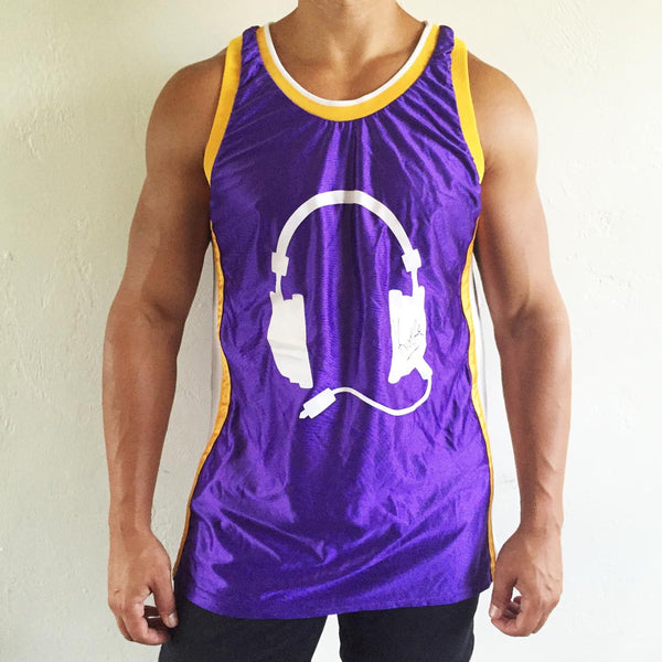 Purple Jersey / Yellow