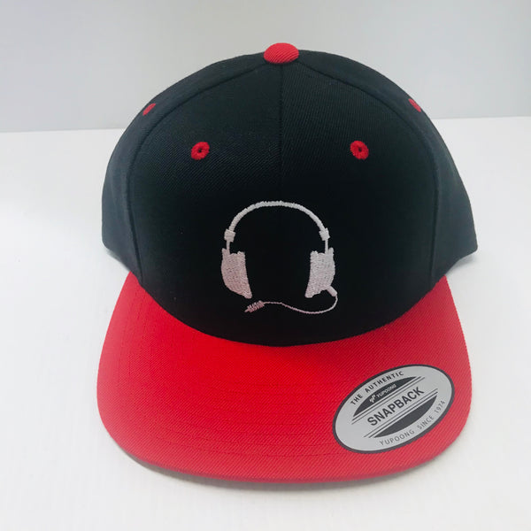 Black with red cap / white logo