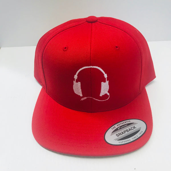Red cap / white logo