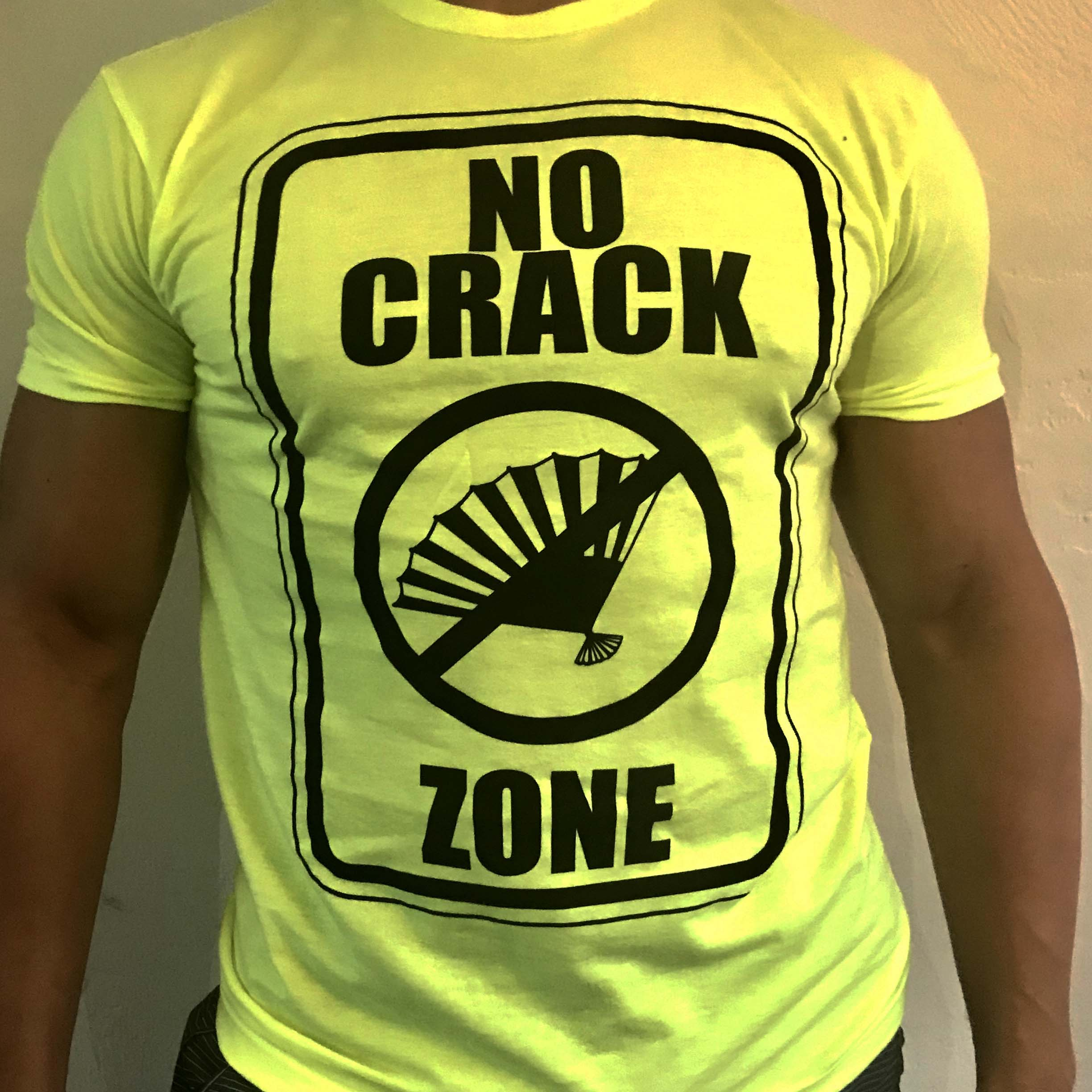 No Crack Fan Zone Tee