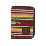 STS ranchwear buffalo girl serape magnetic wallet