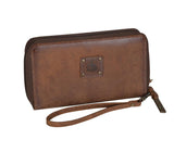 STS Ranchwear Brown Kacy Leather Organizer