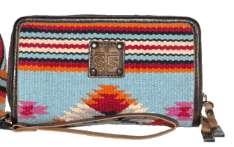 STS Ranchwear Saltillo Serape Kacy Leather Organizer