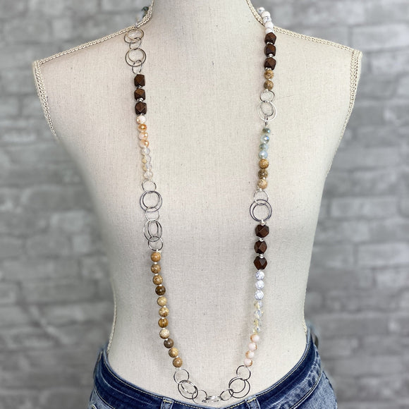 Woodson Jasper Beaded Necklace