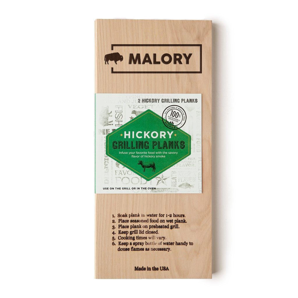 Hickory Planks (pack of 2)