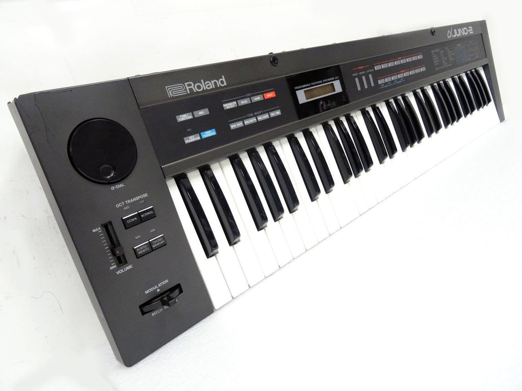 Roland Alpha Juno 2 Polyphonic Programmable Synthesizer