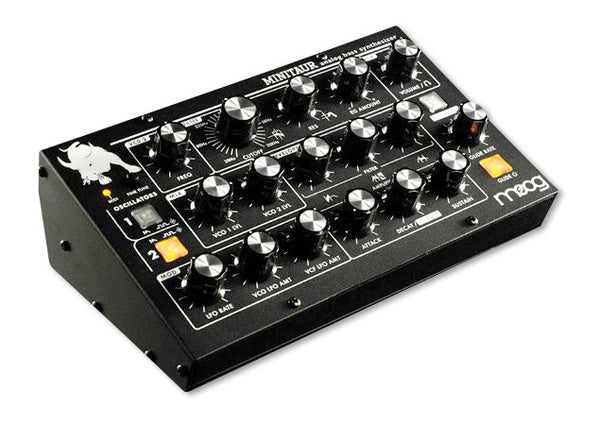 Moog Minitaur Analog Bass Synthesizer - Waveformless