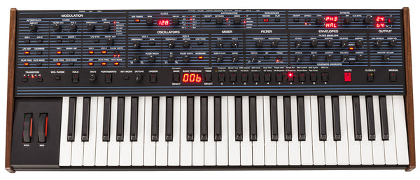 Dave Smith Instruments OB-6 Polyphonic Analog Synthesizer - Waveformless