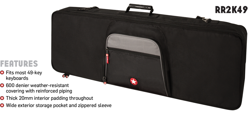 Road Runner 49 Key Gig Bag - Waveformless