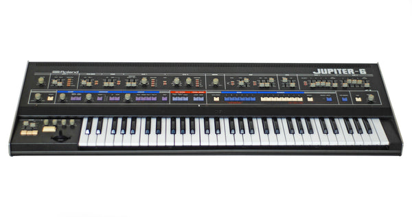 Roland Jupiter-6 Programmable Polyphonic Synthesizer (Europa MIDI Mod Equipped) - Waveformless