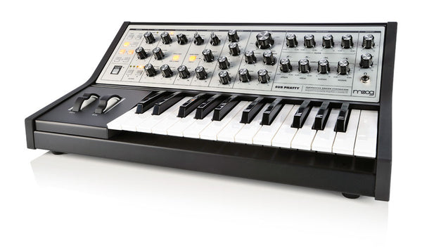 Moog Sub Phatty Analog Synthesizer - Waveformless