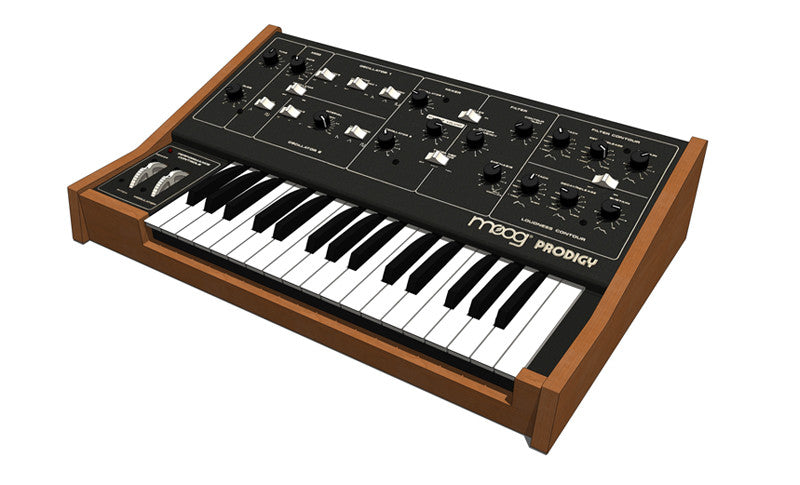 Moog Prodigy Analog Synthesizer with Kenton CV/Gate Socket Kit
