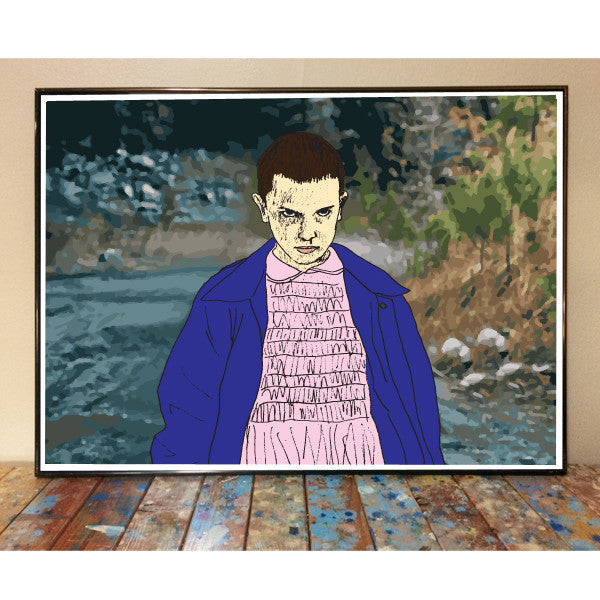 11 Stranger Things Art Print
