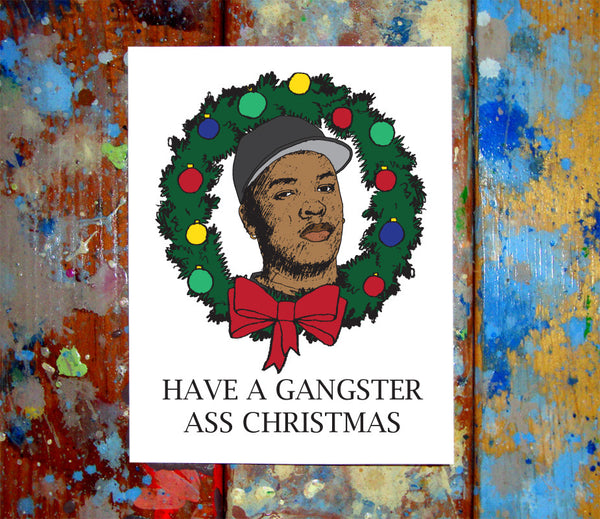 Dr Dre Merry Christmas Card