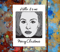 Adele Christmas Card